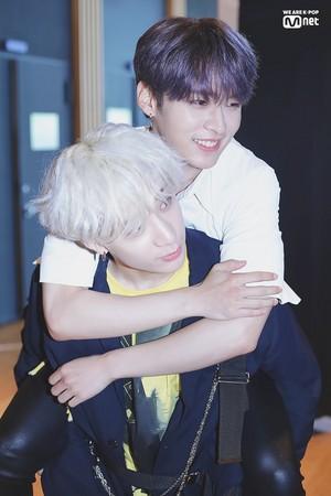 Minho and Bang Chan