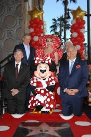 Minnie мышь 2018 Walk Of Fame Induction Ceremony