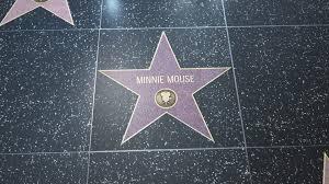 Minnie panya, kipanya nyota Walk Of Fame
