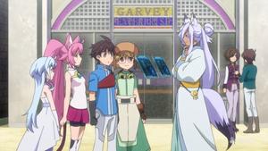 Sarah, Momo, Riku, Yukki And Shahryar