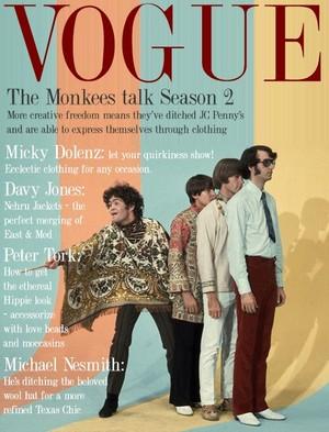 Monkees on Vogue Magazine