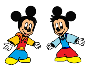 Morty and Ferdie Fieldmouse (Mickey's Nephews)