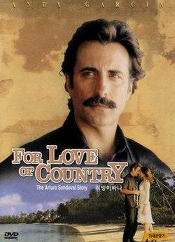 Movie Poster 2000 HBO Film, For Love Or Country: The Arturo Sandoval Story