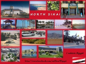 NORTH SINAI IN EGYPT