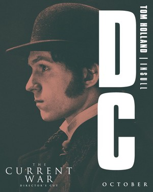 New poster of Tom as Samuel Insull in The Current War