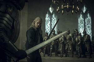 New stills from season one of The Witcher