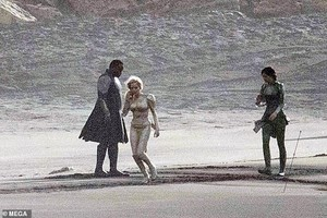 On the set of The Eternals -November 7, 2019