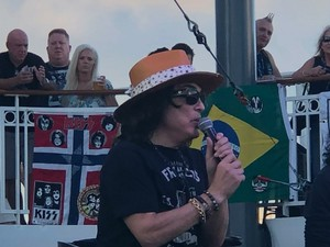 Paul -KISS KRUISE IX ~Miami, Florida...October 30, 2019