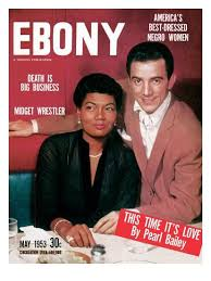 Pearl Bailey And Louie Bellson On The Cover Of Ebony