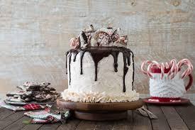 Peppermint Bark Cake