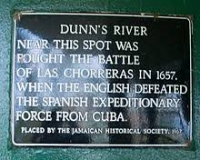 Plaque Pertaining To Dunn's River Falls
