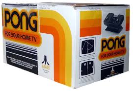 Pong Video Game Consul Set