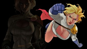 Power Girl Pissed Off 1