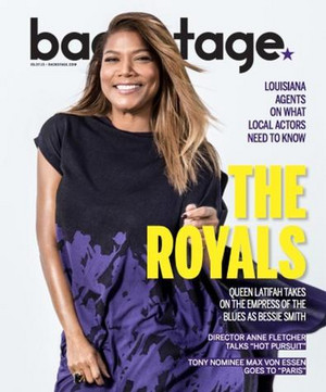 queen Latifah - Backstage Cover - 2015