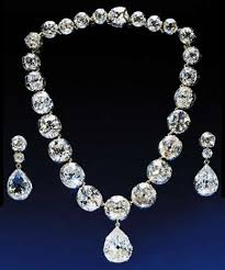 Queen Victoria's Diamond halsketting, ketting And Earring Set