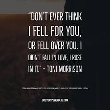 Quote From Toni Morrison