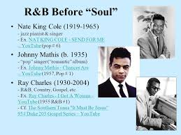 R And B Before Soul