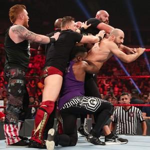 Raw 10/7/19 ~ Tyson Fury and Braun Strowman brawl