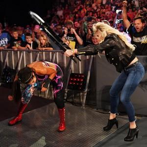 Raw 9/16/19 ~ Nikki Cross/Alexa Bliss vs Bayley/Sasha