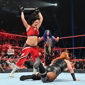 Raw 9/2/19 ~ Sasha and Bayley attack Becky Lynch