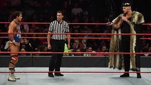 Raw 9/23/19 ~ King Corbin vs Chad Gable
