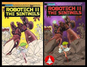 Robotech II : The Sentinels Book 01 Volume 01 coverart