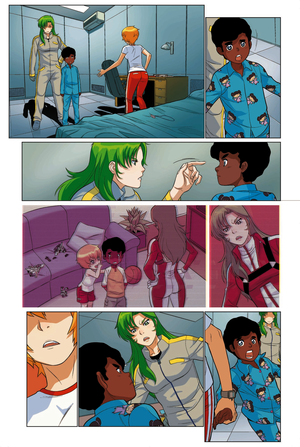 Robotech:REMIX  Volume 01, more preview C