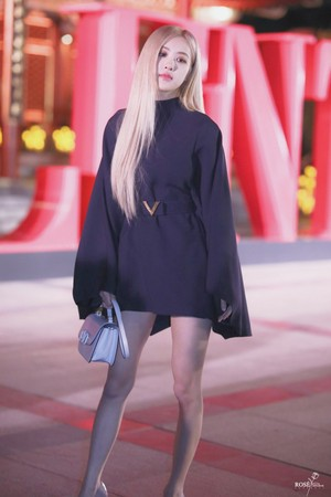 Rose at Valentino DayDream event in Beijing