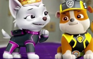 Rubble and Sweetie - Paw Patrol