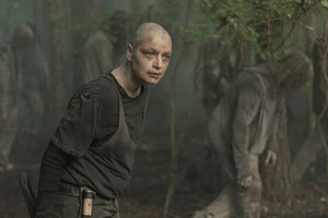 Samantha Morton as Alpha in 10x02 'We Are The End Of The World'