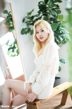 "Sana ""Feel Special"" promotion photoshoot by Naver x Dispatch"