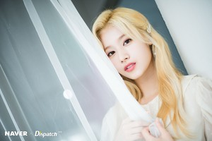"""Sana """"Feel Special"""" promotion photoshoot by Naver x Dispatch"""