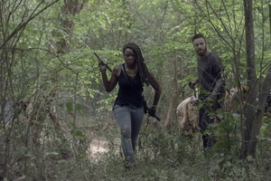Season 10 ~ First Look ~ Michonne and Aaron