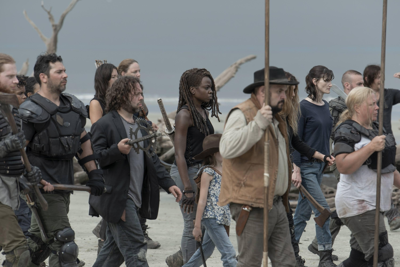 Season 10 ~ First Look ~ Michonne and Luke