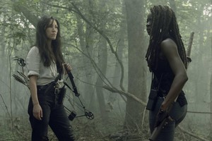 Season 10 ~ First Look ~ Yumiko and Michonne