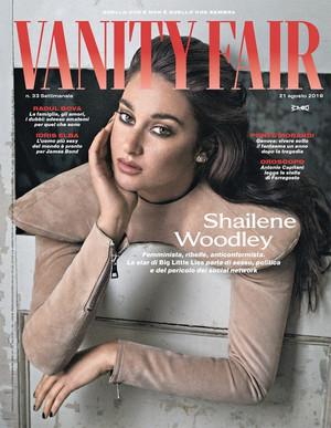 Shailene Woodley - Vanity Fair Italy Cover - 2019
