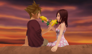 Share Paopu frutas (Sora x Kairi) Moments