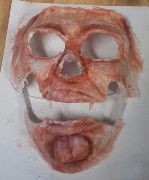 SkinTaker Painted Mask