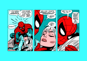 Spider-Man The Night Gwen Stacy Died - The Amazing Spider-Man (1963) no. 121
