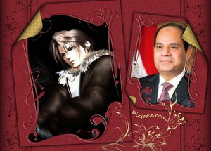Squall Leonhart AbdelFattah Elsisi GET OUT FROM EGYPT