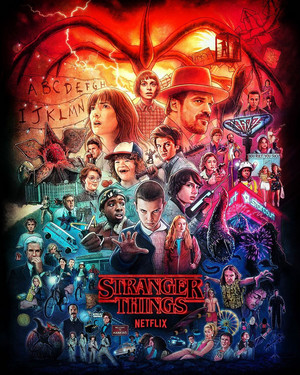 Stranger Things - Seasons 1-3 Poster