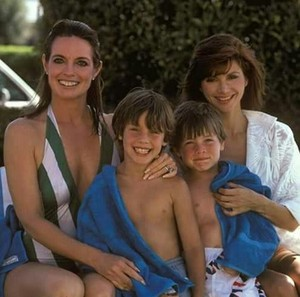Sue Ellen, Pamela, John Ross and Christopher