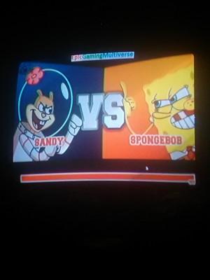 Super Brawl 2 (Sandy vs. SpongeBob)