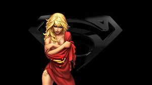 Supergirl In Red Cape 2