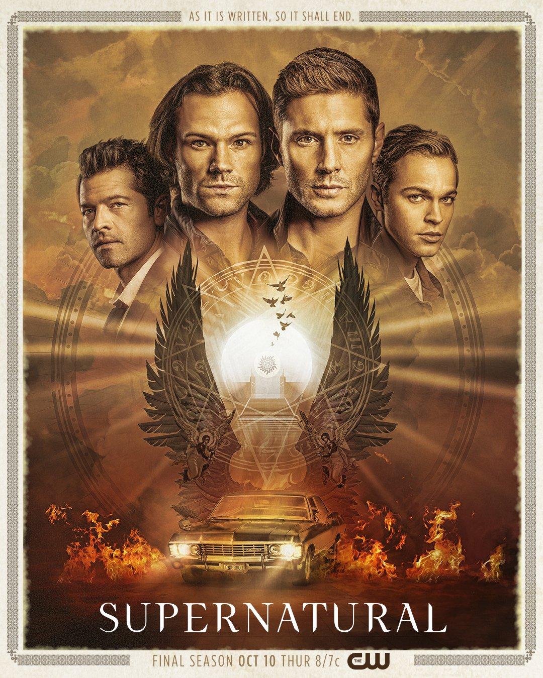 Supernatural - Season 15 - Promotional Poster