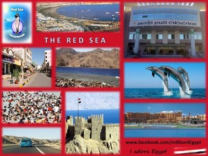 THE RED SEA IN EGYPT