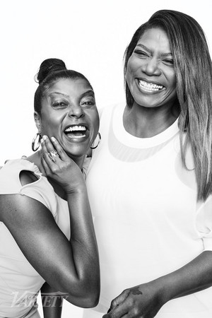 Taraji P. Henson and Queen Latifah - Variety Photoshoot - 2015