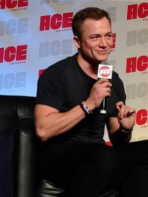 Taron at ACE comic con