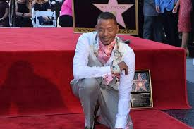 Terrence Howard ster On The Hollywood Walk Of Fame
