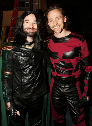 The Betrayal Cast Halloween. Tom Hiddleston as Daredevil -Happy Halloween! 🎃👻🦇